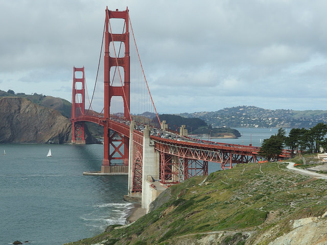 You'll drive over the Golden Gate Bridge on Dylan's Tour Best Bay Area Tours in San Francisco