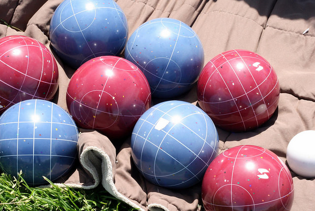 Bocce Balls at STEM, one of the North Beach, South Beach and Mission Beach Restaurants with Live Music