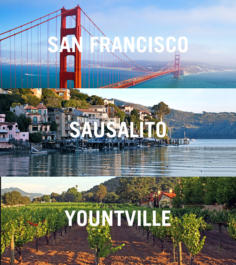 northern california culinary package with 3 food tours