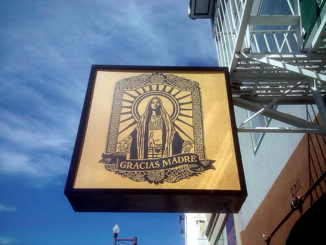 On our The Best Vegetarian Restaurants In San Francisco Guide, Gracias Madre in the Mission