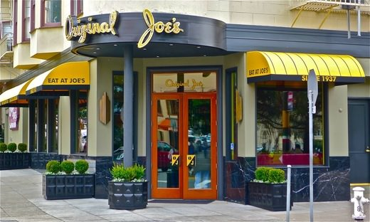 Exterior of Original Joe's