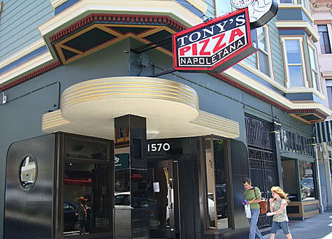 Gluten Free Guide to San Francisco includes pizza from TOny's