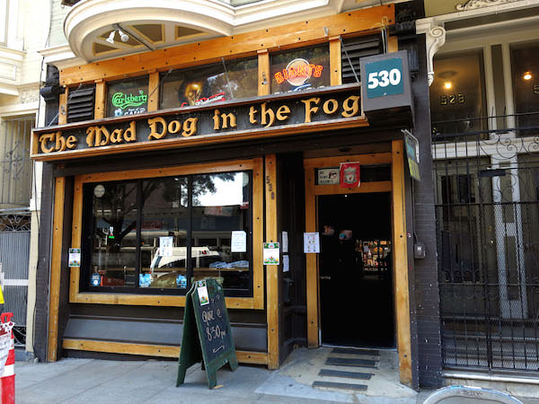 Mad dog in the fog is one of Awesome English Pubs in San Francisco
