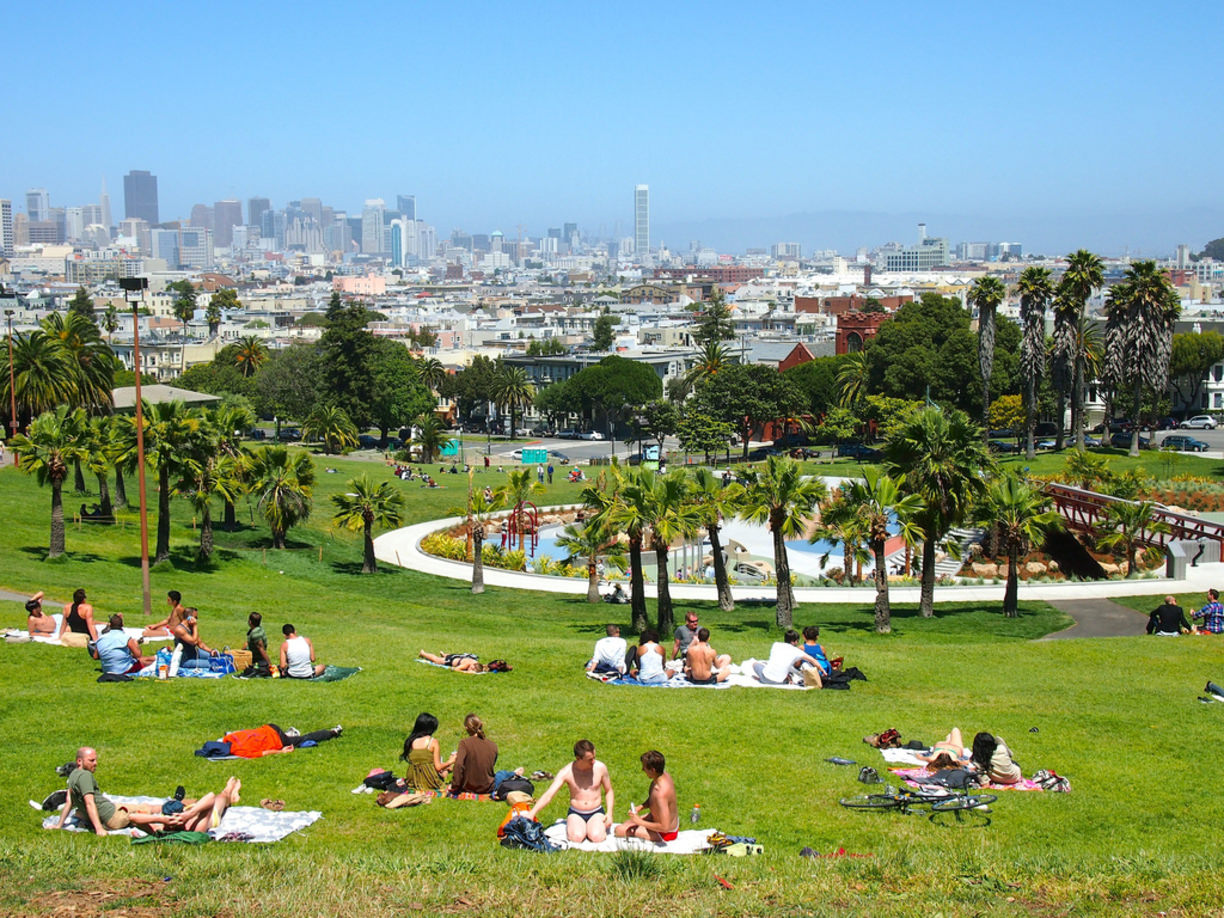 Dolores Park - san francisco tourist spots that locals love