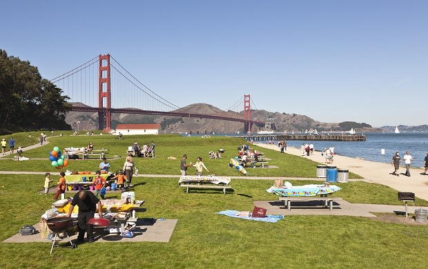 crissy fields - sf tourist spot