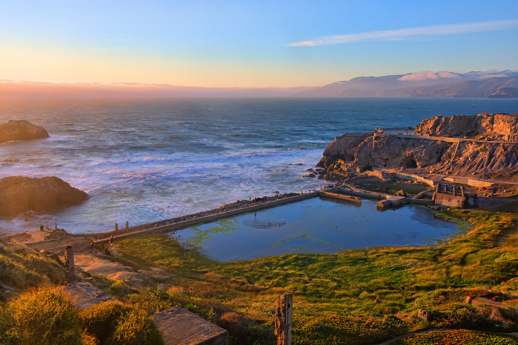 sutro baths - san francisco tourist spots that locals love