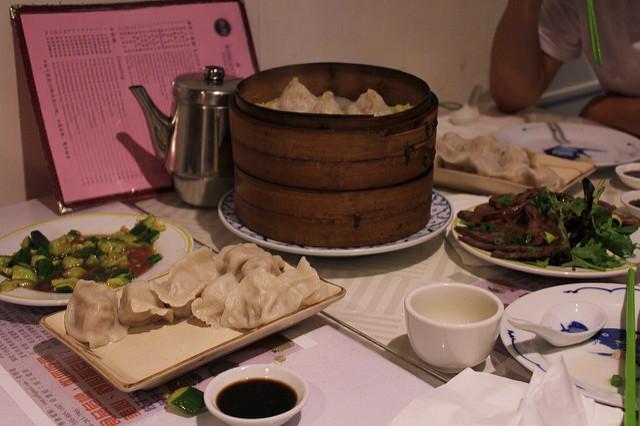 Dumplings at Kingdom of Dumpling; The Best Chinese Food San Francisco