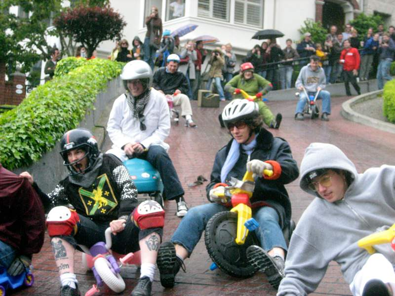 3 Cool and Unusual Things to Do in San Francisco: Big Wheel Race