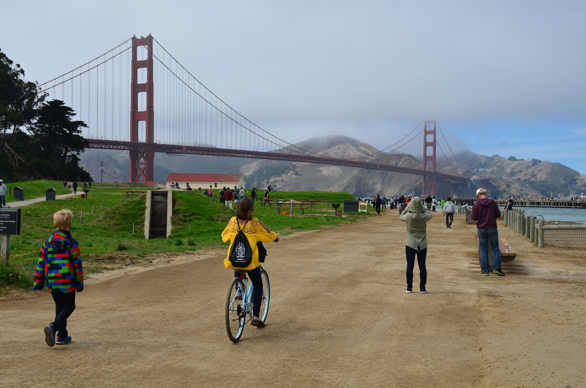 5 Ultimate Things to Do in San Francisco: bike over the bridge