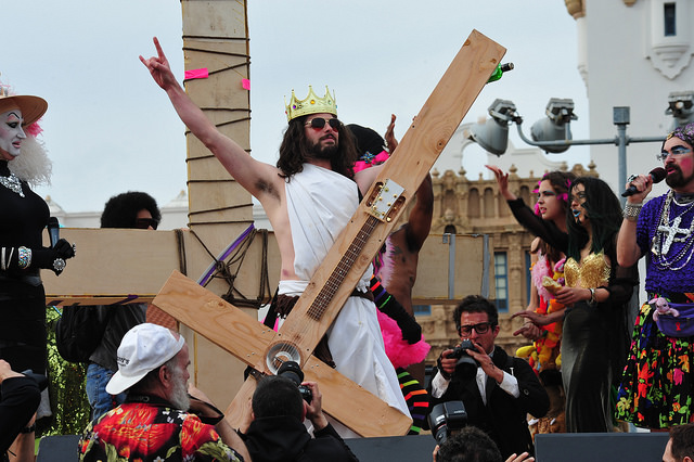Hunky Jesus is one of the 10 Things Everyone Should Do In SF Before They Die: