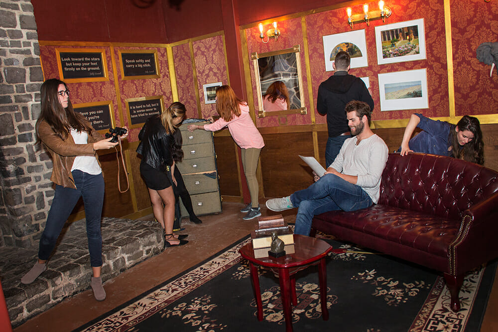 adult trying to escape palace games escape room for team building games for adults