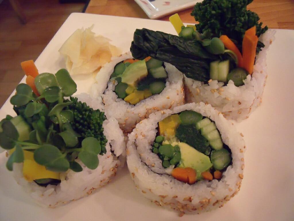 Cha-Ya sushi : The Best Vegetarian Restaurants In San Francisco