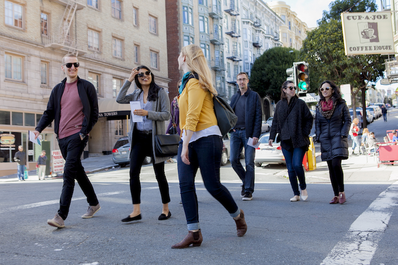 San Francisco Team Building Events Your Staff Will Love: take a food tour in SF