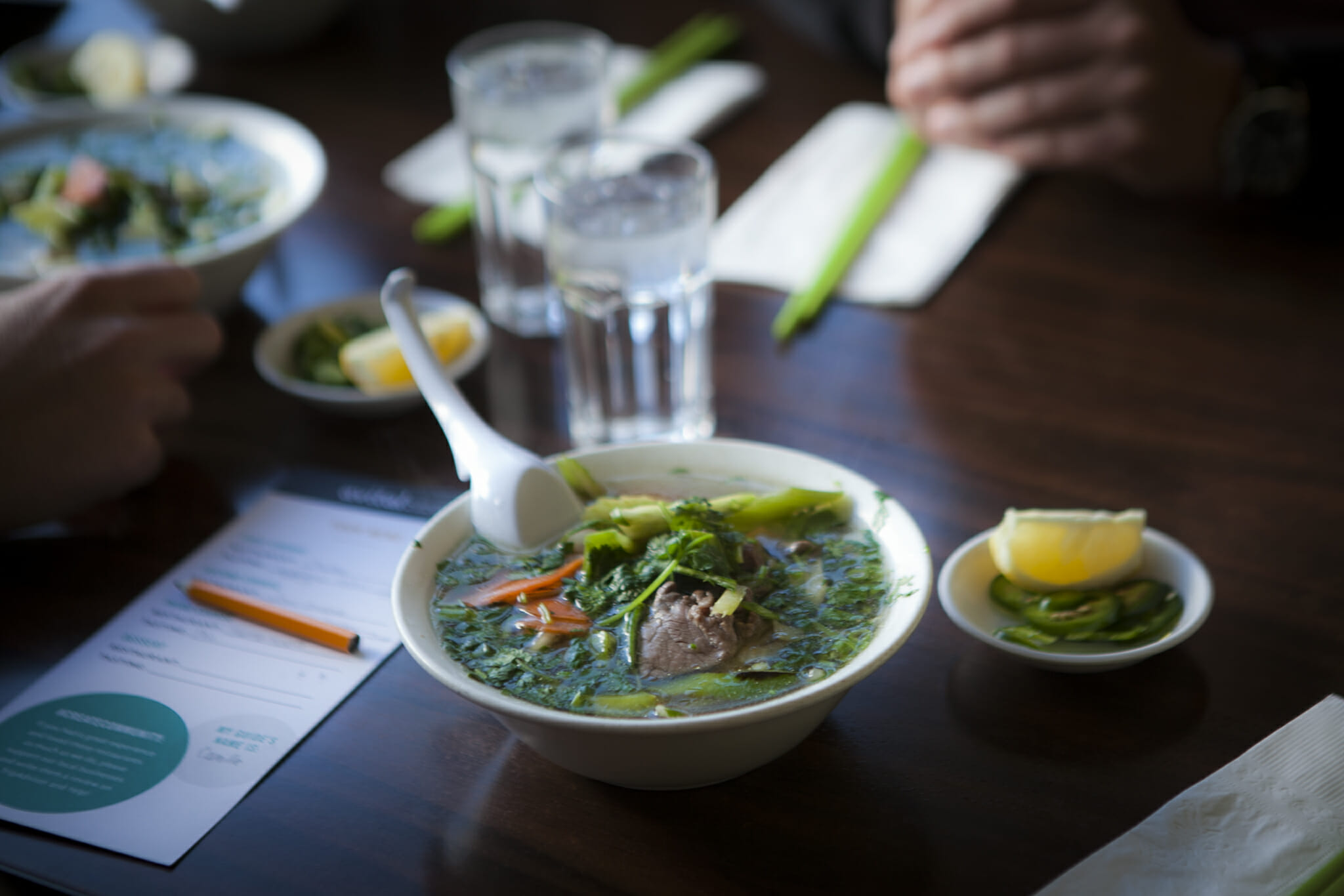 featured image for tendernob food tour pho