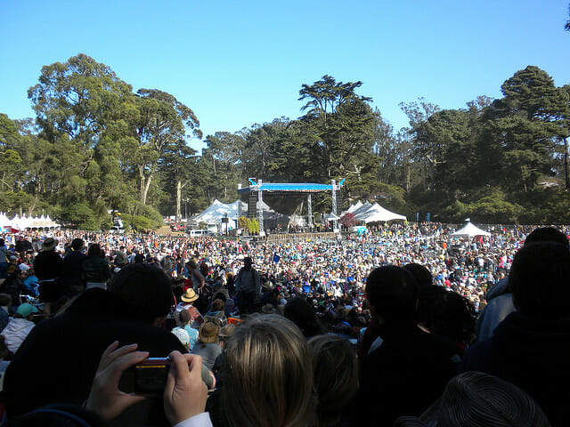 jam out in the park at Hardly Strictly-Things To Do and See in SF This Fall
