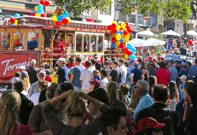 Parade around in North Beach-Things To Do and See in SF This Fall