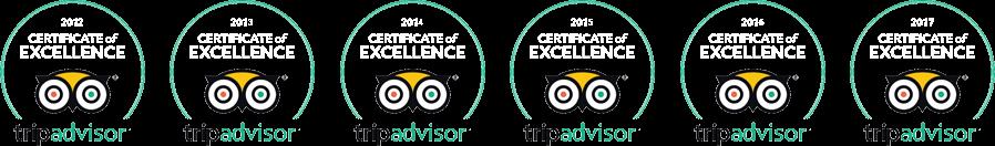 trip advisor badges