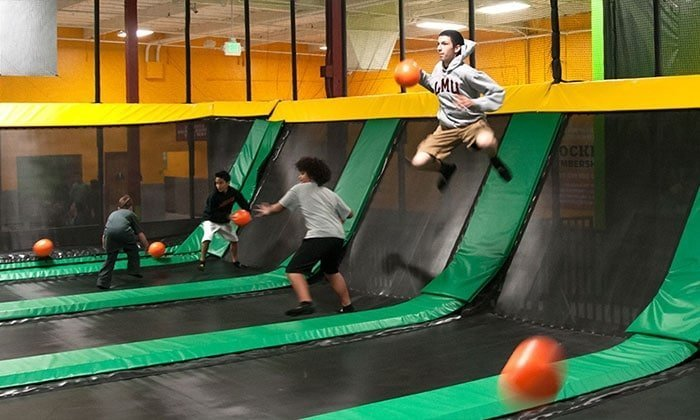 Try Something New With Trampolines As A Best 25th Birthday Party Idea In San Francisco