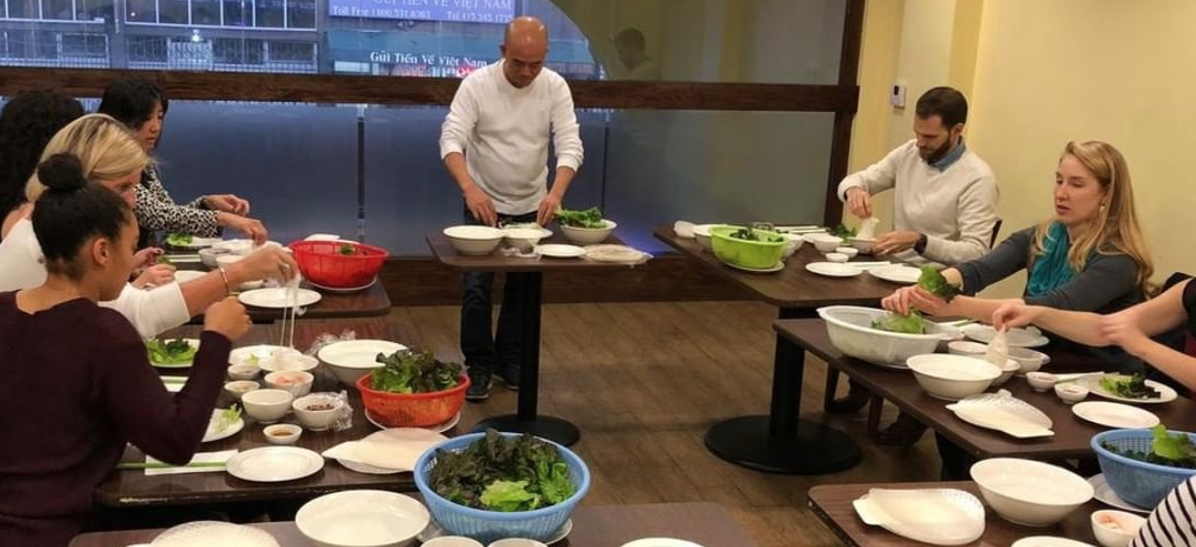 hands on culinary activity at turtle tower