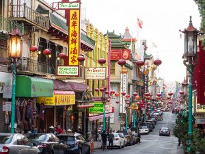 best food tours in san francisco includes busy streets of chinatown