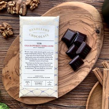 dandelion chocolate bar is an example of a corporate team building food tour upgrade
