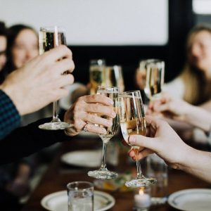 people cheersing on san francisco vip private food tours