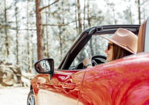 woman driving 50th birthday party ideas quarantine