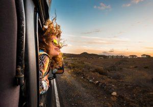 woman out car window 50th birthday party ideas quarantine