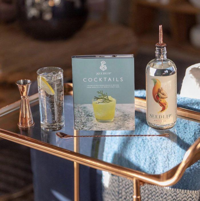 seedlip cocktail for virtual bartending