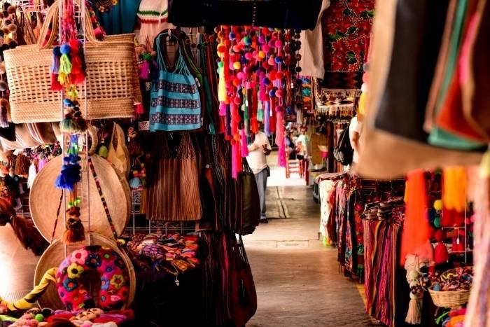 go shopping in mexico city for virtual team building cinco de mayo