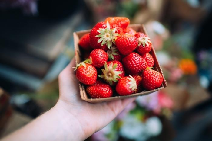 strawberries-at-san-francisco-farmers-market