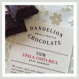 Chocolate from Dandelion Chocolate shop