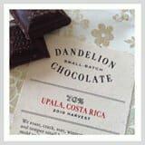 Chocolate from Dandelion Chocolate shop