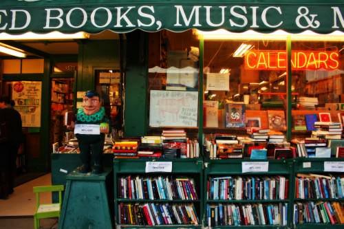 Green Apple Books bookstore in San Francisco
