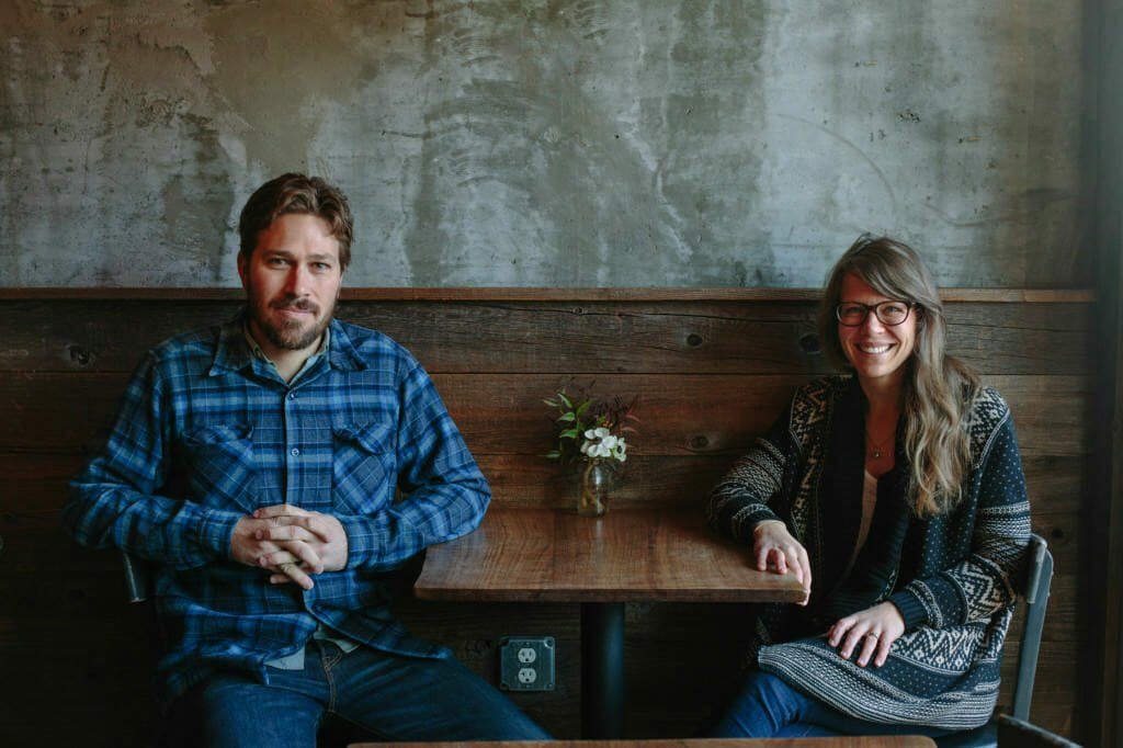 owners of Mission Cheese Sarah Dvorak and Oliver Dameron