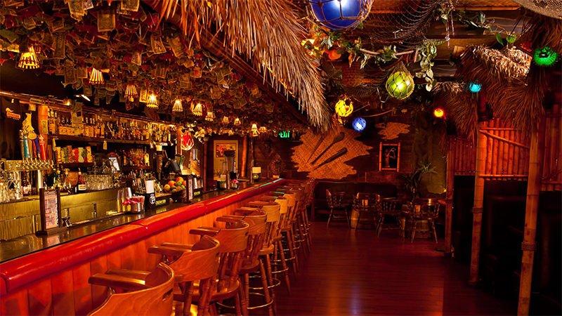 Forbidden Island bar in San Francisco