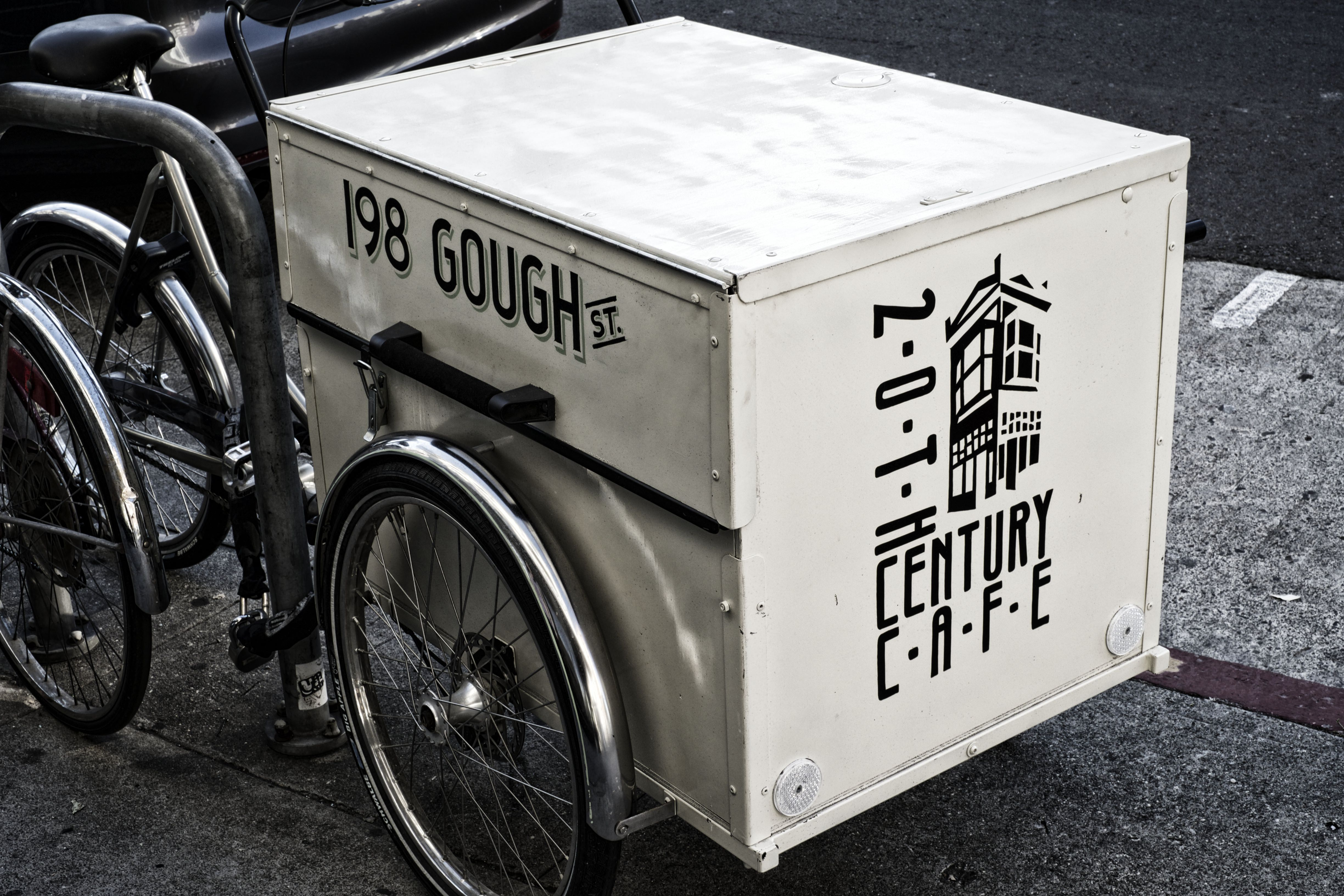 20th Century Cafe delivery bike