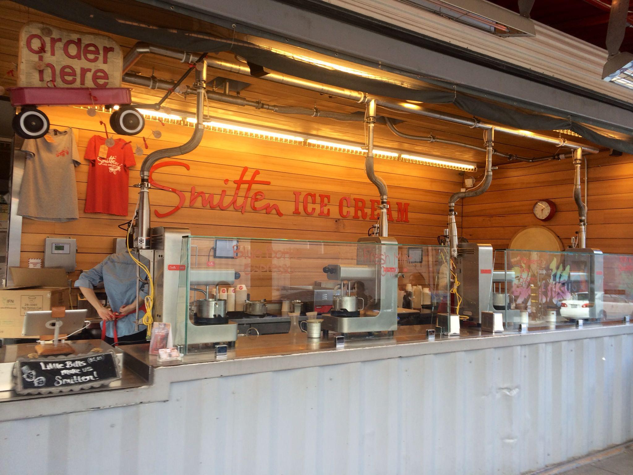 Smitten Ice Cream shop in Hayes Valley