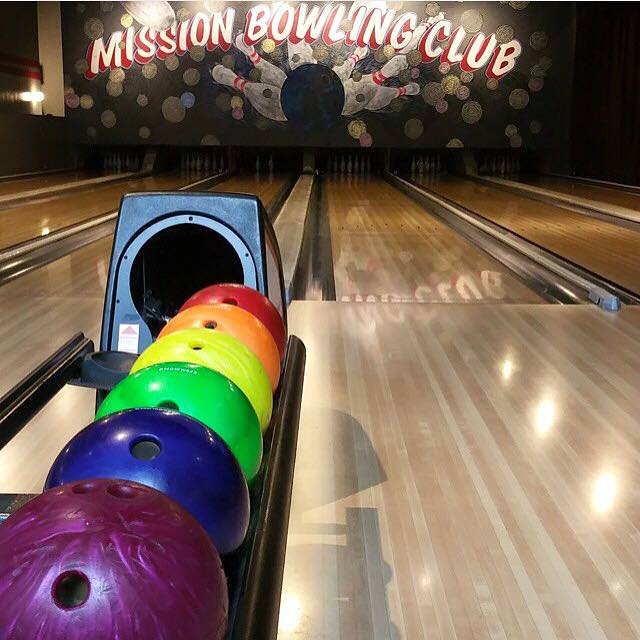 Mission Bowling Club In San Francisco
