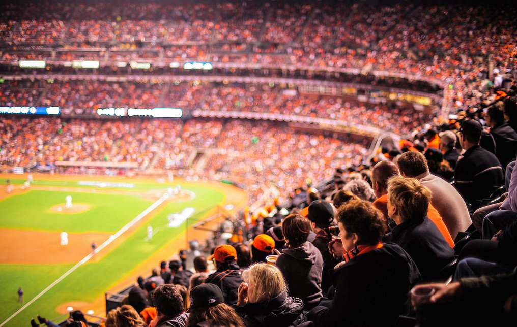 30th birthday party at the Giants game in San Francisco