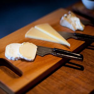 cheese flight at Mission Cheese in San Francisco