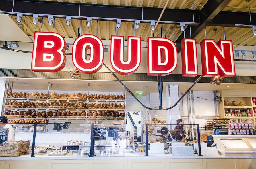 Boudin bakery at Fisherman's Wharf