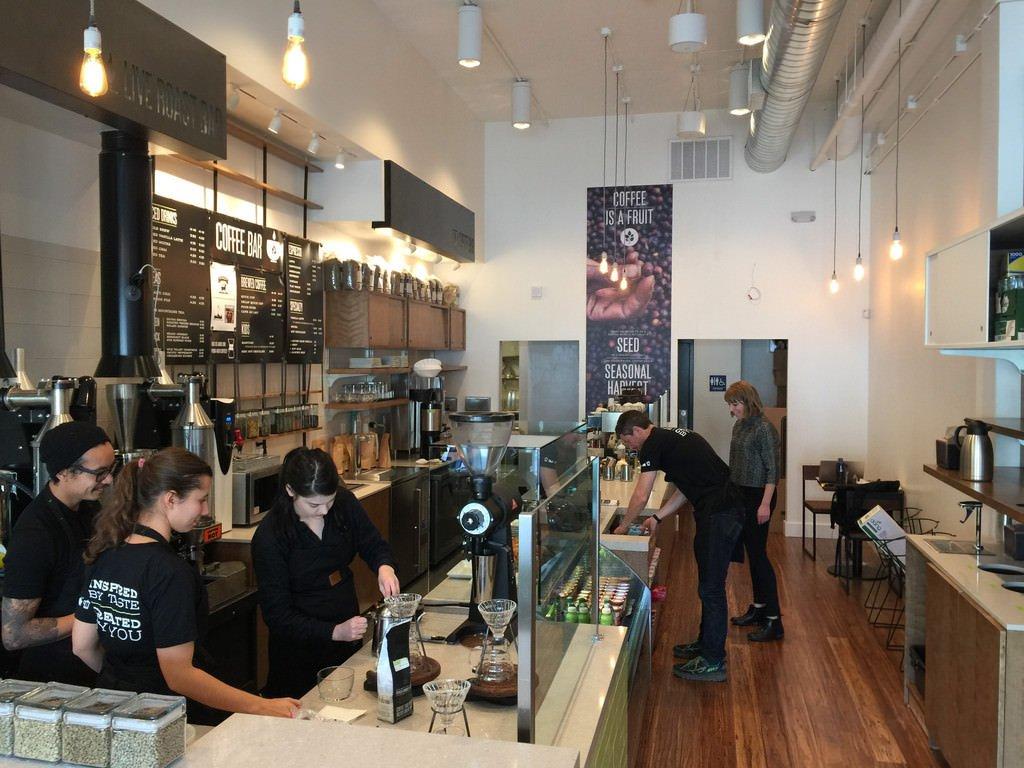 Artís cafe in Hayes Valley