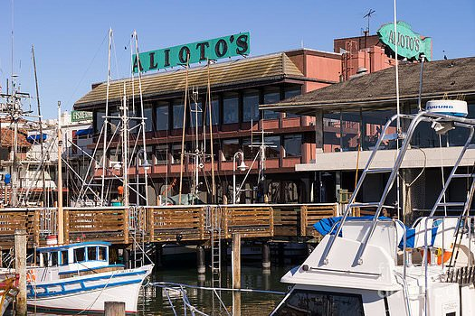 Alioto's Restaurant in Fisherman's Wharf