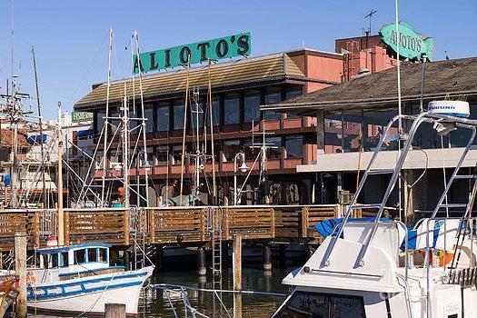 Alioto's Restaurant in Fisherman's Wharf