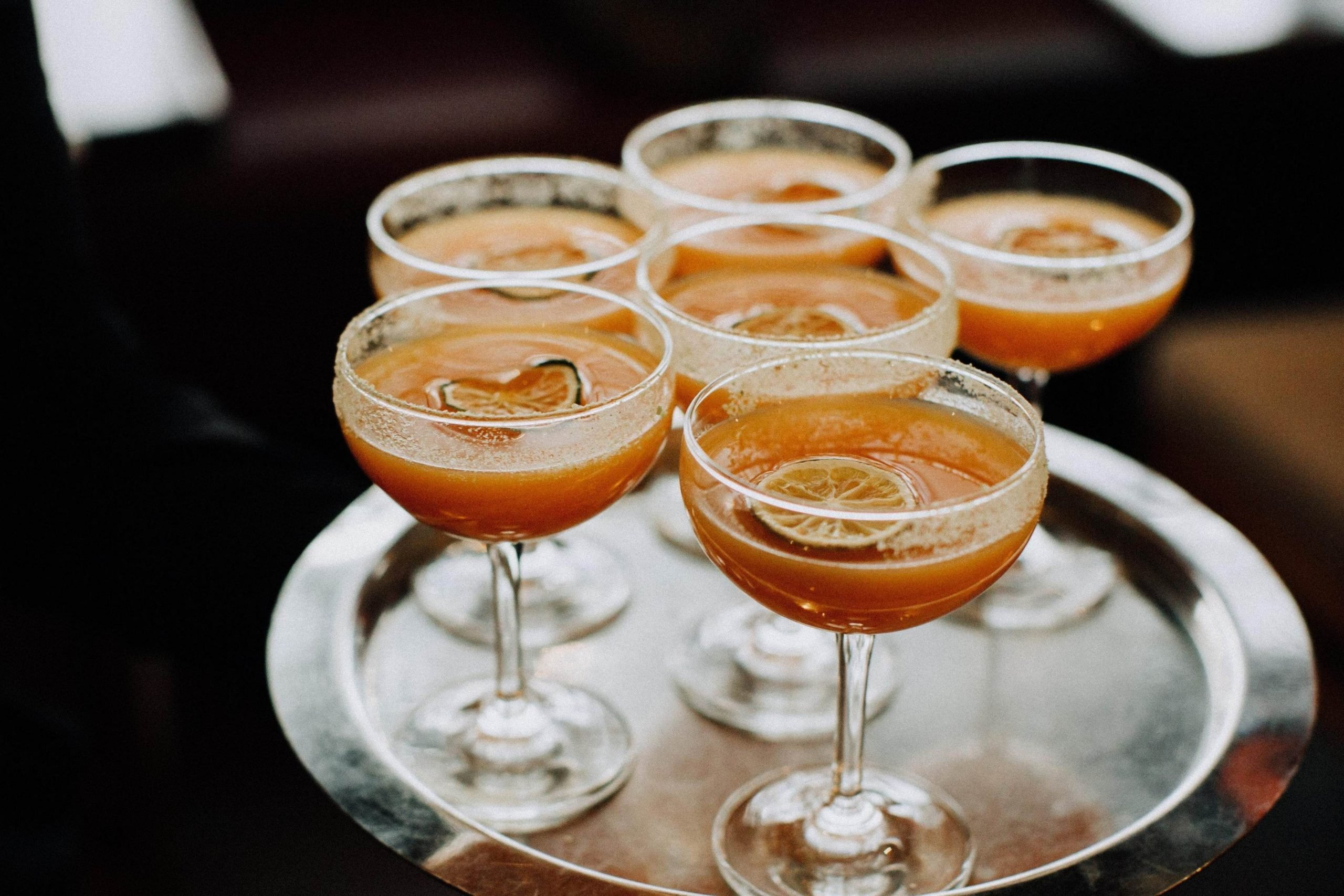 citrus cocktails made during virtual events